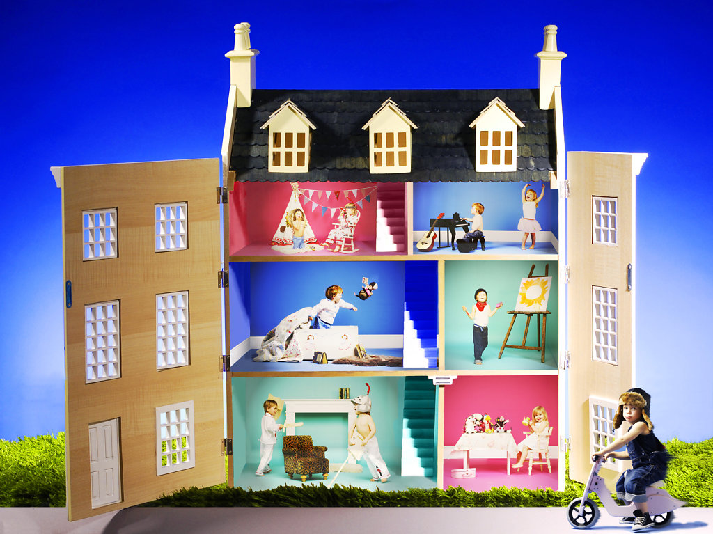 Funky Urchins House (Children's Furniture Company)